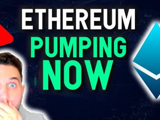 ETHEREUM PUMPING NOW! Last chance to accumulate altcoins!