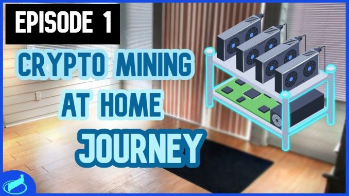 Deciding Where To Put The Mining Rigs - First Look   #CryptoMiningAtHome